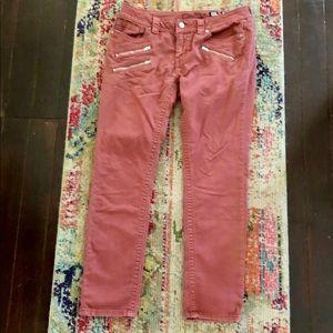 Miss Me Jeans - Rust Orange - Size 30